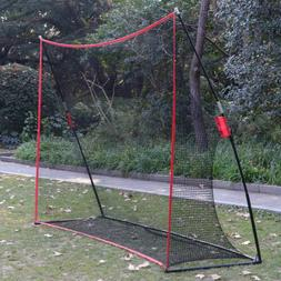 10 x 7FT Portable Golf Hitting Practice Net Driving Training
