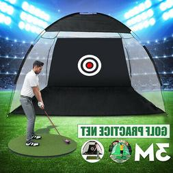 10FT Outdoor Supersized Golf Practice Driving Net With Cloth