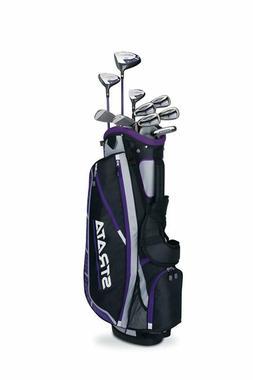 14-Piece Callaway Womens Strata Plus Complete Golf Club Set