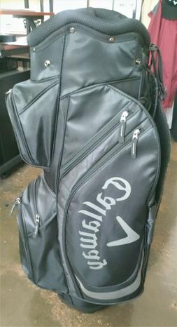 Callaway 14-Slot Cart Golf Club Bag - Black & Gray only 4.5