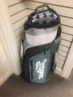 Titleist 14 Way Cart Bag Sheet/Charcoal/Black New With Tags