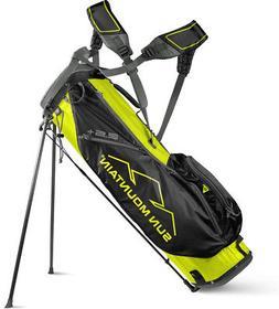 Sun Mountain 2.5+ Stand Bag Yellow/Black/Gunmetal