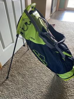Sun Mountain 2.5+ Stand Golf Bag 14 Way New Black Neon green