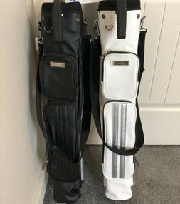 Titleist Golf Japan Issued Stand Carry Caddy Bags White & B
