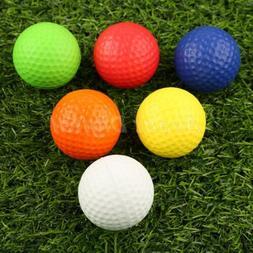 20 pcs/bag PU Foam Elastice Golf Sponge Balls Indoor Outdoor