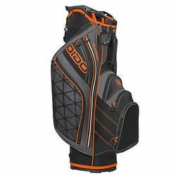 OGIO 2015 Men's Cirrus Lightweight Golf Cart Bag -Blaze/Blac