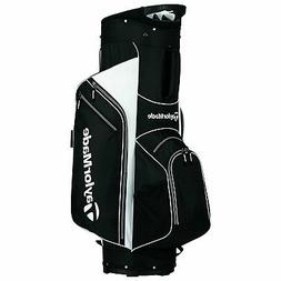 TaylorMade 2017 Golf Bag TM Cart Bag 5.0 BlkWht Black/White