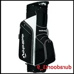 TaylorMade 2017 Golf Bag TM Cart Bag 5.0 BlkWht, Black/White