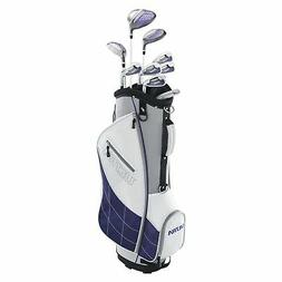 Wilson Golf Women's 2017 Ultra Package Set, Right Hand, Whit