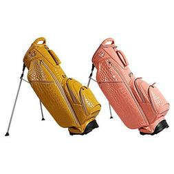 2017 women alligator 5 way stand bag