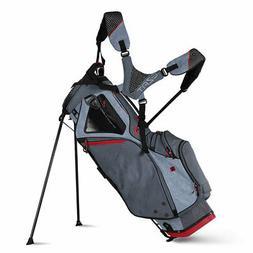 Sun Mountain 2018 4.5 LS  Stand Bag - Charcoal / Gun / Red-