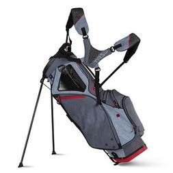 Sun Mountain 2018 4.5 LS  Stand Bag - Charcoal / Gun / Red-