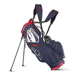 Sun Mountain 2018 5.5 LS Stand Bag - Navy / White / Red - CL