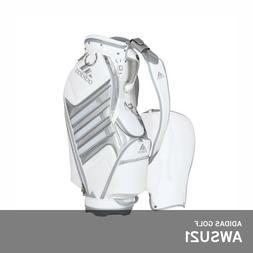 Adidas Golf 2018 AWSU21 Caddie Cart Bag 9.5In 5-Way PU A9248