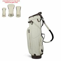 Sun Mountain 2018 Canvas / Leather Cart Bag - Matching Head