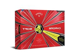 Callaway Golf Chrome Soft Truvis Golf Balls, , Yellow/Black