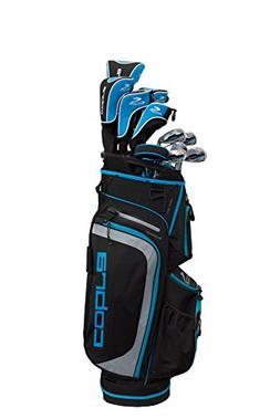 Cobra 2018 XL Complete Set Black-Capri Blue