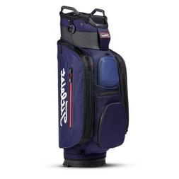 2018 Titleist Golf Deluxe CB Club 14 Cart Bag COLOR: Navy 14