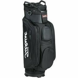 2018 Titleist Golf Deluxe CB Club 14 Cart Bag COLOR: Black/B