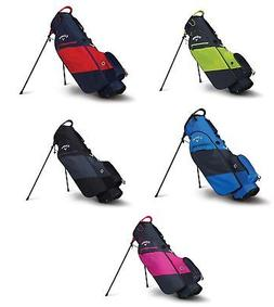 2018 Callaway Golf Hyper-Lite Zero Stand Bag Double Strap Pi