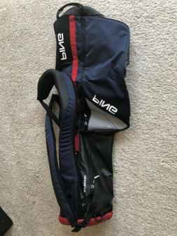PING 2018 Moonlite Carry Bag Navy/White/Red