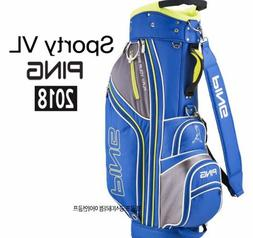 "PING 2018 SPORTY VL Men's Caddie Bag Cart 9.0"" 5-Way 5.5lb P"