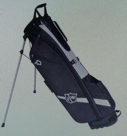 2018 Wilson Staff Quiver Stand Bag Black NEW
