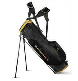 2019 Sun Mountain 2.5+ Golf Bag Steel Black Yellow Stand Bag