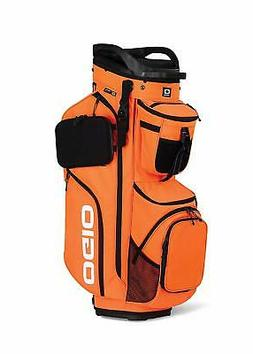 2019 Ogio Alpha Convoy 514 Cart Golf Bag - Glow Orange