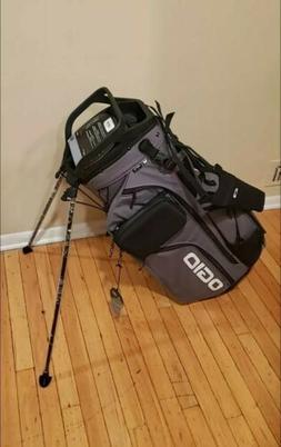 2019 Ogio Alpha Convoy 514 RTC Stand Golf Bag - Charcoal