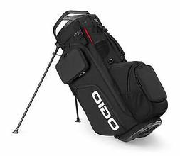 2019 Ogio Alpha Convoy 514 RTC Stand Golf Bag - Black