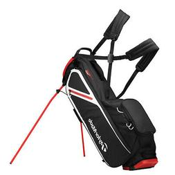 2019 TaylorMade Flextech Lite Stand Golf Bag - Black/Blood O