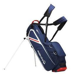 2019 TaylorMade Flextech Lite Stand Golf Bag - Navy/White/Re