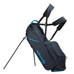 2019 TaylorMade Flextech Lite Stand Golf Bag - Titanium/Blue