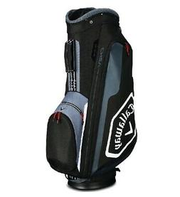 2019 Callaway Golf Chev Cart Bag - Black/Titanium/White