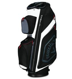 2019 Callaway Golf Chev Org Cart Bag - Black/Titanium/White
