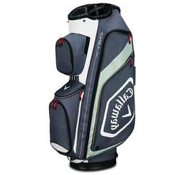 2019 Callaway Golf Chev Org Cart Bag - Titanium/White/Silver