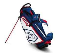 2019 Callaway Golf Chev Stand Stand Bag - Navy/White/Red