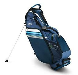 2019 Callaway Golf Hyper- Lite 3 Stand Bag - Navy/Blue/White