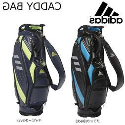 2019 ADIDAS Golf JAPAN HFF67 CADDY BAG CART BAG Black Navy 9