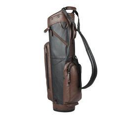 2019 Sun Mountain Leather Cart Bag