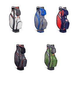 "Sun Mountain 2019 New Sync Cart Golf Bag 9.5"" 15 Way Top Cho"