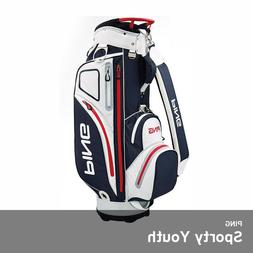 Ping 2019 Sporty Youth Golf Club Cart Bag 9In 5lb Free EMS L
