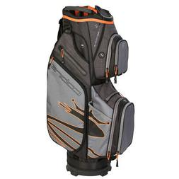 2019 ultralight cart golf bag black orange