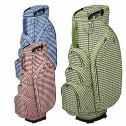 2019 OUUL Women Checkwave 14-Way Cart Bag NEW