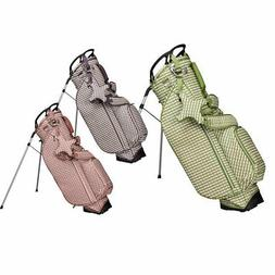 2019 OUUL Women Checkwave Stand Bag NEW