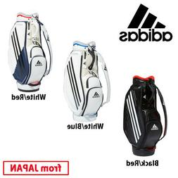 "2020 ADIDAS Golf JAPAN GUW08 Caddy bag Cart bag 9.5"" 8.60lb"