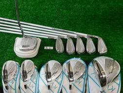 TaylorMade 2020 Kalea Charcoal Blue Womens Golf Club Set  La