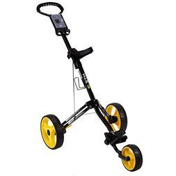 Hot-Z Golf 3.0 3-Wheel Push Cart - Black