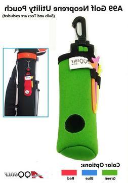 3pcs A99 Golf Utility Pouch Neoprene Golf Balls Holder Tees